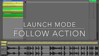 "One Push One Tip Launch Mode ""Follow Action"