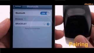 Bluetooth-браслет с часами