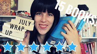 15 BOOKS! | JULY WRAP-UP