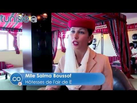 La vie d'une hôtesses de l'air Emirates Airlines