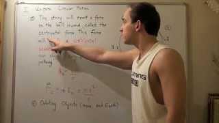 Uniform Circular Motion, Centrİpetal Acceleration and Centripetal Force