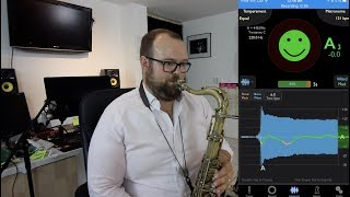 Can this app tune your sax?