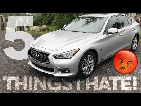 5 Things I HATE About My Infiniti Q50