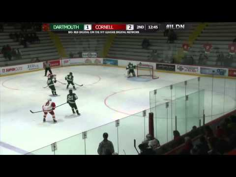 Dartmouth Women's Hockey Highlights at Cornell