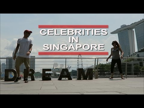CELEBRITIES IN SINGAPORE | OUR 6 WEEK PLAN! | VLOG 24