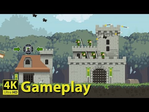 Fluffy Horde - 4K GAMEPLAY [2D Real Time Strategy Game]