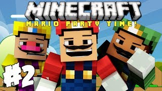 Minecraft: Mario Party Time - Ep. 2 - Are You Mad? Or Not!