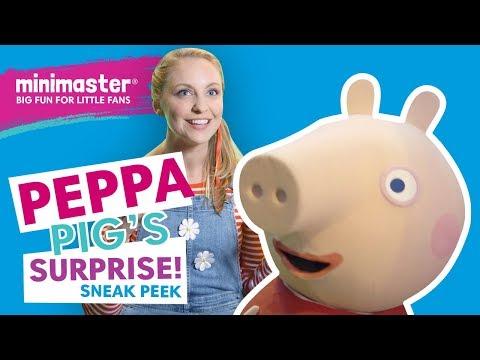 Peppa Pig Live Surprise! | Minimaster Behind The Scenes