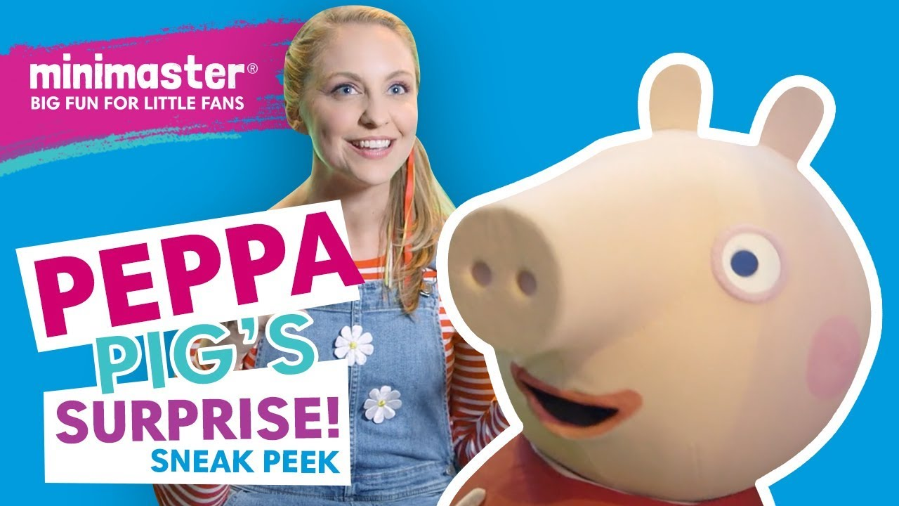 Peppa Pig Live Surprise Minimaster Behind The Scenes