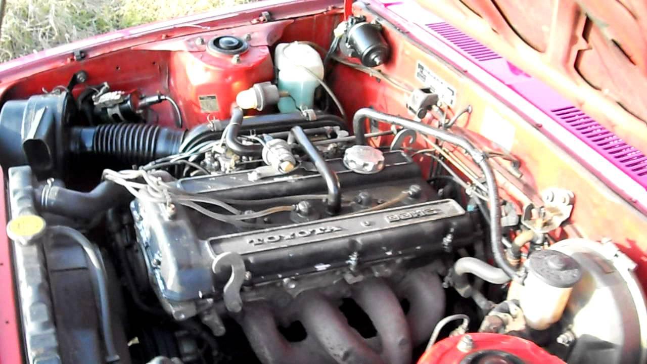 Toyota Celica 2000gt 18r G 001 Motor Youtube