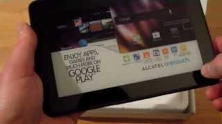 Alcatel One Touch Evo 7 Unboxing und erster Eindruck