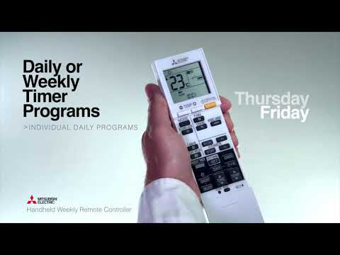 Handheld weekly remote controller - Advanced features