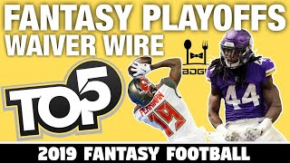 Fantasy Football Championship - Week 16 Waiver Wire Targets