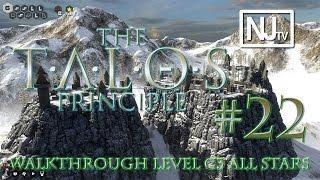 The Talos Principle Walkthrough Level C3 (1/1 Star + 5 Easter Eggs!)