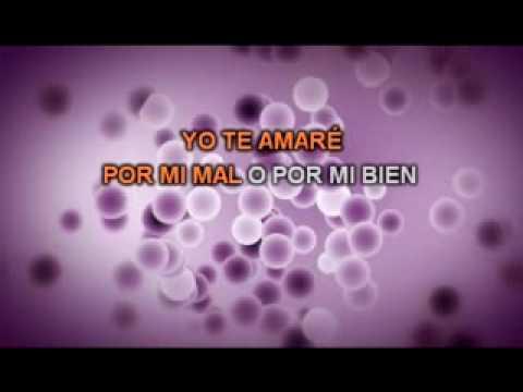 Sergio Denis De ti me enamore Karaoke ByCesar