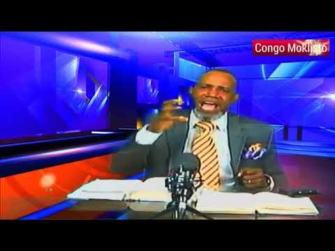 CONGO MOKLISTO PRESENTE EMISSION TANGU-IFUENE AVEC L'EVANGELISTE MAKO