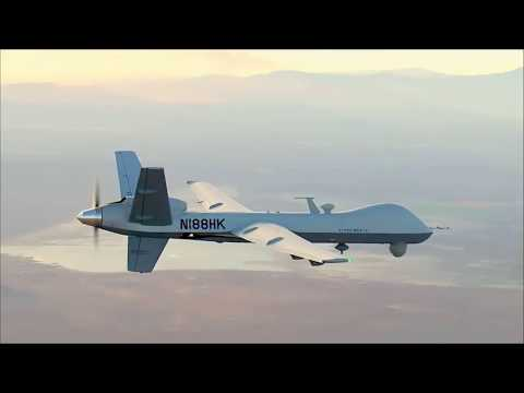 Predator B - General Atomics promo video