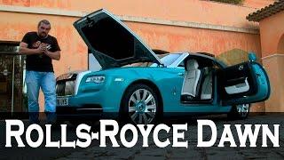 Rolls-Royce Dawn (Роллс-Ройс Дон), кабриолет.  Обзор, тест-драйв #СТОК №9