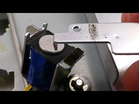 How to fix HP LaserJet 4250 jam in tray 2 solenoid sticking.