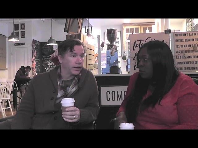 Tea Time with Lorna  & Matt at a tea shop Episode 16