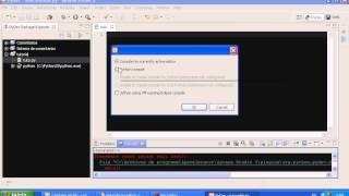 Trabajando con Python (IDE2/ Aptana)