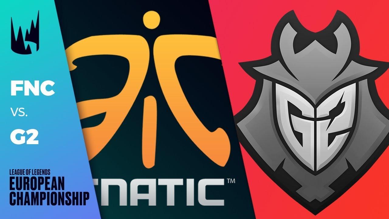 FNC vs G2, Game 2 - LEC 2019 Summer Playoffs Round 2 - Fnatic vs G2 Esports G2