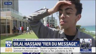 """Eurovision: Bilal Hassani se dit """"fier du message et de la performance"""" préparée avec son équipe"""