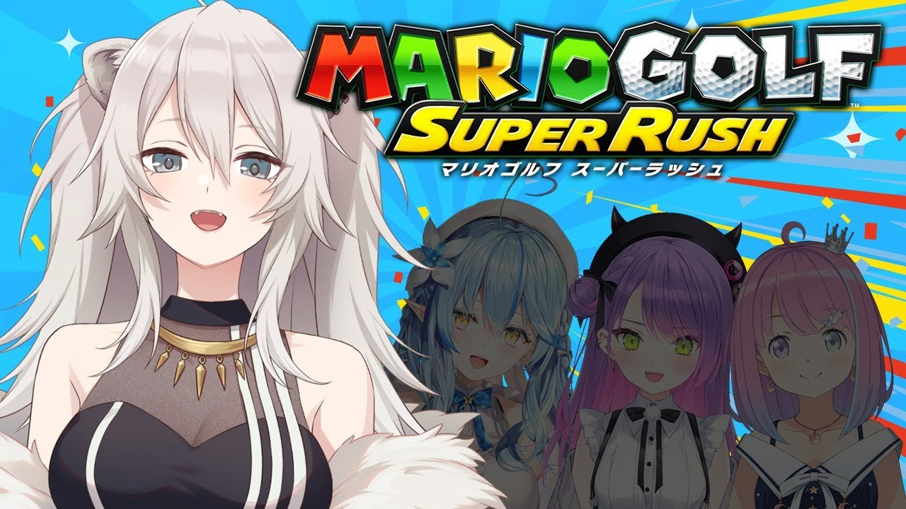 [Mario Golf Super Rush]It's summer! It's golf! It's a battle![#Holo Golf Club]