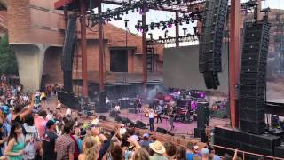 Wish I Knew You, The Revivalists, Red Rocks Amphitheatre