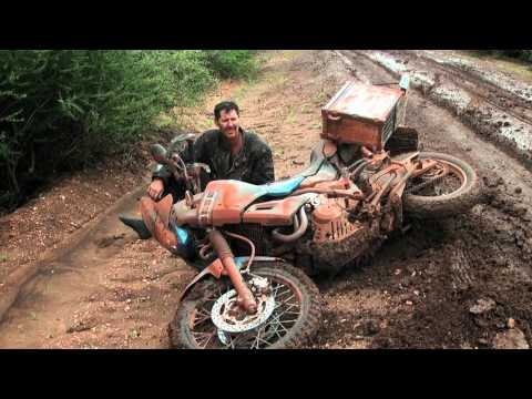 African Motorcycle Diaries - Flat Tyres and Gunshots!