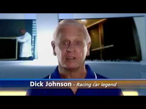 Crimsafe Security Screens featuring Dick Johnson