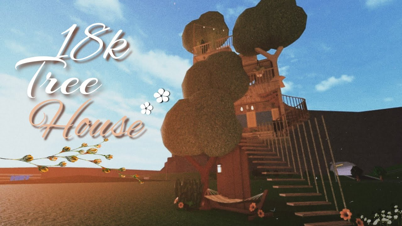Roblox Bloxburg Tree House L 18k Youtube