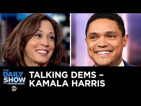 Talking Dems - Kamala Harris Explains Why She Said No to a DACA-for-Wall Deal | The Daily Show