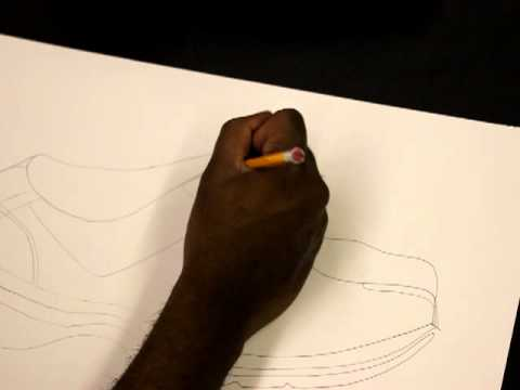 Contour Line Drawing Shoes Lesson Plan : How to draw contour line drawing elementary art lesson plan youtube