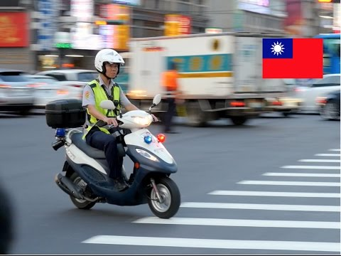 Image result for police scooter arrest taiwan