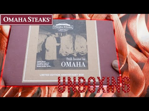 My Omaha Steak Unboxing (Family Grilling Combo Value Assortment Box)