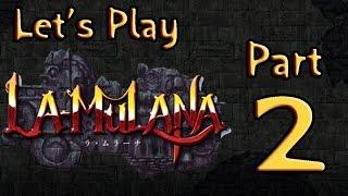 Lets Play (PL) La Mulana part 2 - Głębiej w głębie