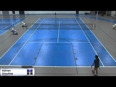 4/2/15 Adrian College Women's Tennis vs. Ursuline College
