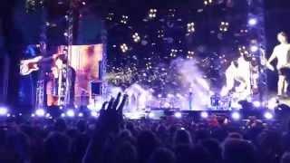Håkan Hellström - Det kommer aldrig va över för mig - Live Ullevi 2014-06-07 - Close to stage
