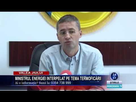 interpelare minister energie in legatura cu termoficarea