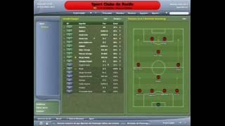 Gameplay - Football Manager 2005 - Sport 1 x 1 Vitória