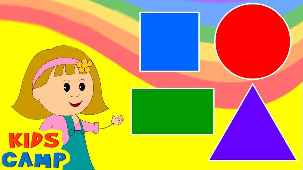 Learn about Shapes with Elly - Learning is Fun for Children With KidsCamp