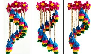 DIY Wool Wind Chime / Best out of Waste Wool Craft / Home Decor