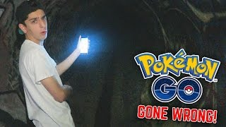 HUNTING POKEMON IN A HAUNTED AREA