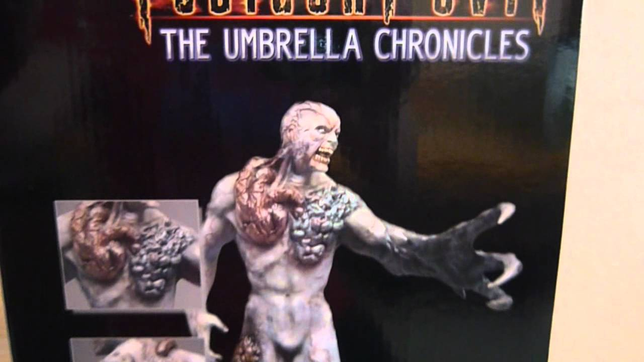My Resident Evil -The Umbrella Chronicles [High End Resin ... Resident Evil Tyrant T 002