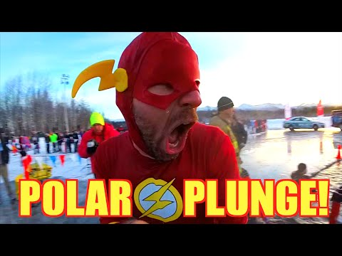 BEST POLAR PLUNGE EVER! - [Living in Alaska 91]