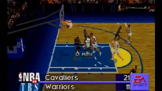 NBA Live 97 Sega Saturn Intro + Gameplay