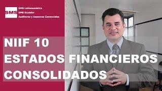 NIIF 10   CONSOLIDACION DE ESTADOS FINANCIEROS
