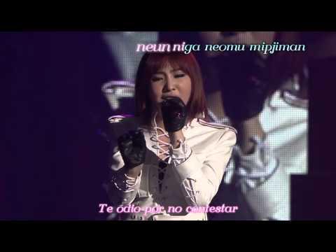 2NE1 ~ COME BACK HOME (Unplugged Ver.) [Sub Español+Karaoke]