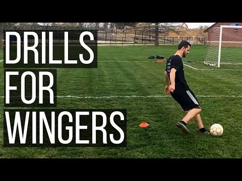 3 Soccer Drills To Help You Dominate The Wing - Soccer Drills For Wingers